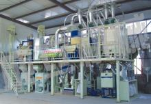 complete set of corn processing plant