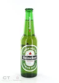 Dutch Heineken Lager Beer 25cl bottle for sale 0.600000