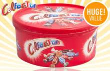 Mars Celebrations Tub 750G - High Quality Chocolate