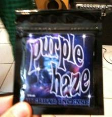 Purple Haze,Brainfreeze and Ripped herbal incense.