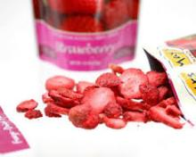100% Pure Natural Freeze Dried Strawberry Chips