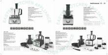 intelligent kitchen equipment factory price 12 in 1 multifunctional food processor