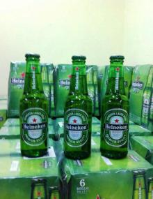 Bottled Heinekens Beer