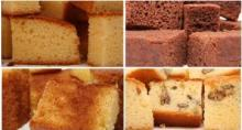 Sponge cakes (Bizcochos)