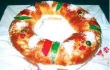 King′s cake (Roscon de Reyes)