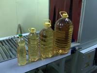 Bright refined sunflower oil for all