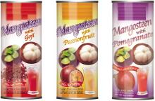 Canned Mangosteen with Natural Juice