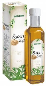 Natural Sesame Oil 250 ml Glass Bottle GMP Certified