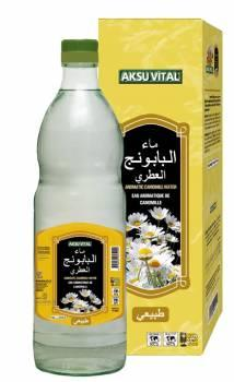 Aromatic Chamomile Water 500 ml Glass Bottle Natural Floral Water Health Drink