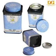 Flower Tea Packing Tin Can