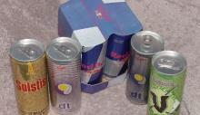 Canned No Cafein Energy Drink