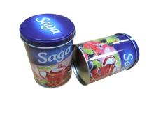 colorful Sugar tin box