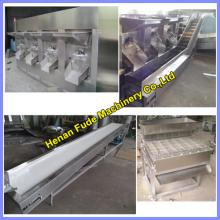 Hot selling blanched peanut processing line 600kg/h , peanut peeling line, peanut red skin removing