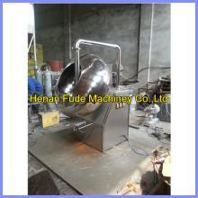 Stainless steel chocolate peanut coating  machine , peanut flour coating  machine ,chocolate  coated  pea