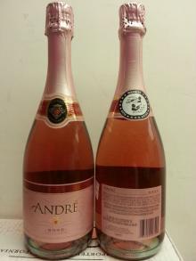 Andre Brut & Rose Sparkling Wine