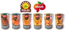 "Aluve Ready to eat ""Halal Certified"" precooked dishes"