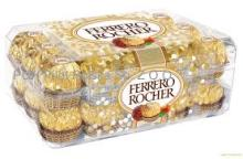 FERRERO ROCHER CHOCOLATES T30 AVAILABLE IN LARGE STOCK