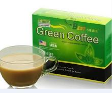 Slimming Coffee Tea With Best Share Green Coffee, Herbal Extracts And Minerals For Body Slimming