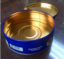 Cookie/Biscuit packaging round tin can