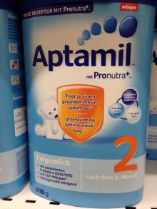 Aptamil Milupa Baby/Infant Milk Formula Pre, 1, 2, 3 from Germany