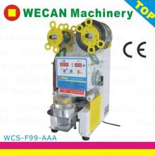 Fully Automatic PP cup sealing machine with CE approval for bubble tea