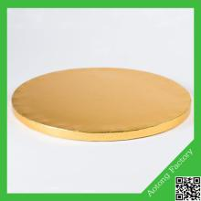 Round mdf cake board cake drum in different size