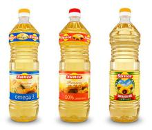 Sunflower oil refined bottled