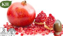 Pomegranate Hull Extract: Polyphenols 40% by UV; Ellagic Acid 15%, 40% by HPLC
