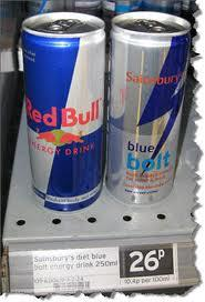 Red Bull,Power Hors and other energy drinks for sale