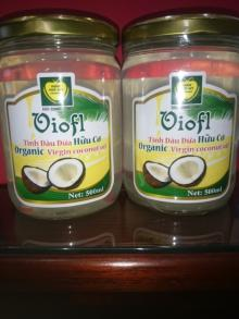 Organic Extra Virgin coconut oil cold press