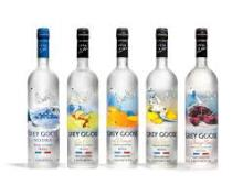 Grey Goose Vodka in different flavours