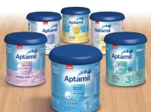 APTAMIL, NUTRILON,COW&GATE Milk Powder