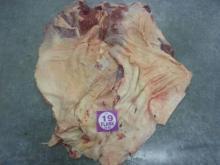 Flank Halal Frozen buffalo meat.