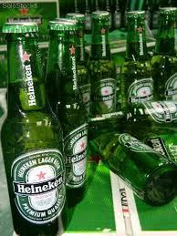 Fresh and cold Heineken from holland