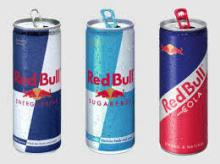 ORIGINAL AUSTRIA RED BULL ENERGY DRINK