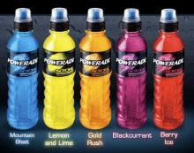 POWERADE DRINKS (DIFFERENT FLAVOR)