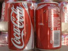 Soft Drinks Coca-cola, Fanta, Sprite, 7UP, Pepsi)