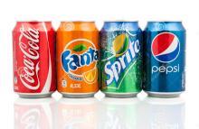Soft Drinks Coca-cola, Fanta, Sprite, 7UP, Pepsi