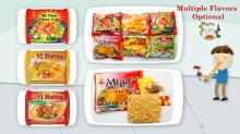 Long Life Brand Instant Noodles 70gr With Many Flavours