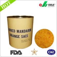 Manufacture canned mandarin orange sacs/pulp/cell