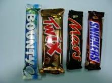 Bounty &Twix & Mars & Snickers & M&M & Milky
