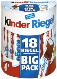 Kinder Riegel 18er (18 Riegel of 21g)