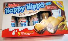 Kinder Happy Hippo Cacao Einzelstuck 20,7g