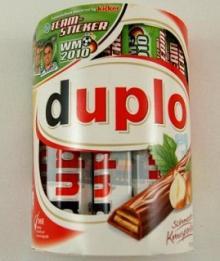 Duplo 10er (10 Riegel of 18,2g