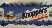 Knoppers 250g 10 er