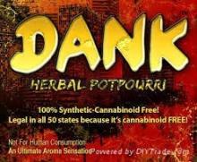 Dank Potpourri Herbal Incense Smoke