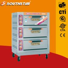 electric oven with 6 trays