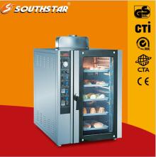 Convection oven with 5 trays