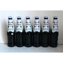 Kronenbourg 1664 Blanc beer 250ml bottles and Corna Extra Beer.