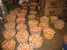White/Brown Fresh Table Chicken Eggs